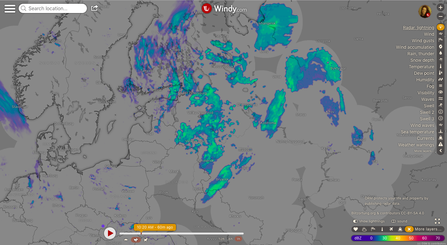photo: Windy.com;link: https://www.windy.com/-Radar-lightning-radar?radar,56.596,50.977,5,p:off;licence: cc;desc: Radar, lightning map: Russia
