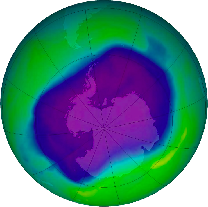photo: en.wikipedia.org;link: https://en.wikipedia.org/wiki/Ozone_depletion;desc: Ozone hole over Antarctica.;