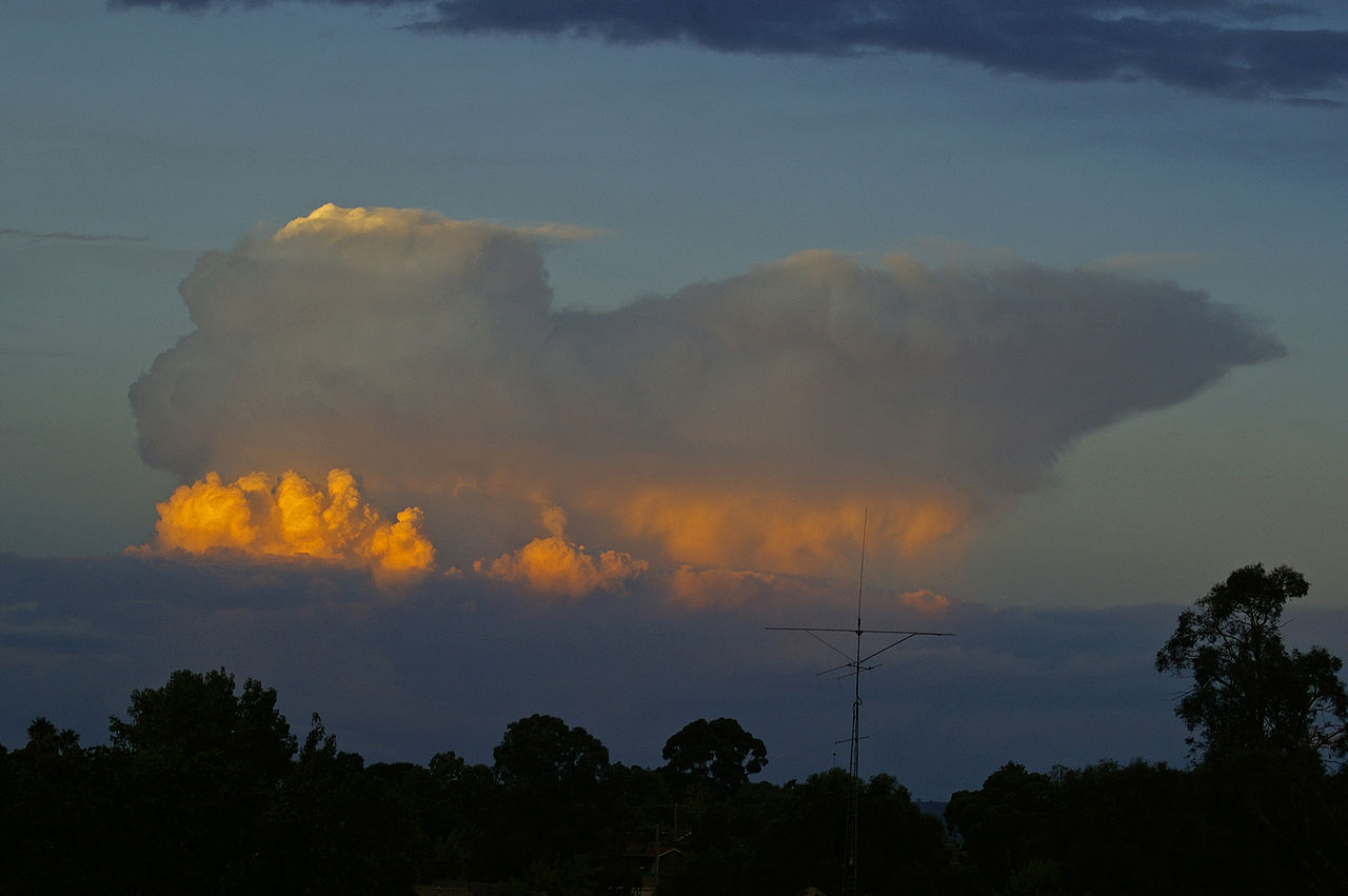 photo: Bidgee;desc: Cumulonimbus capillatus storm cloud type low level.;link: https://commons.wikimedia.org/wiki/File:Cumulonimbus_capillatus_3.jpg;licence: cc