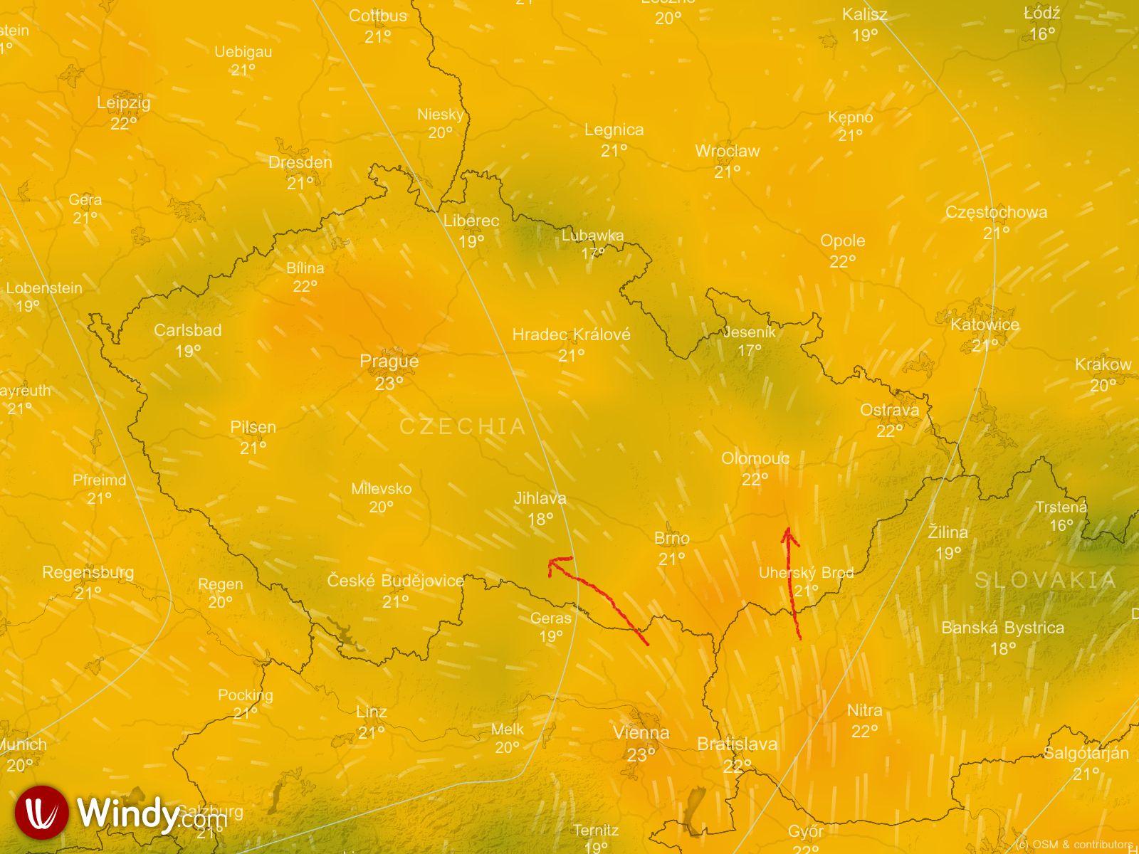 Anotace počasí na velikonoce 2019 pondělí