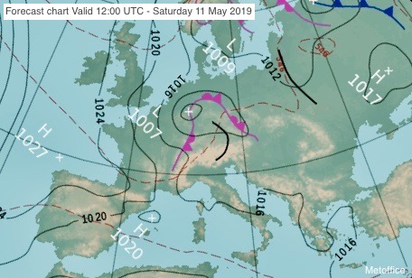 Photo by: MetofficeForecast charthttps://www.metoffice.gov.uk/weather/maps-and-charts/surface-pressure/#?tab=surfacePressureColour&fcTime=1551438000