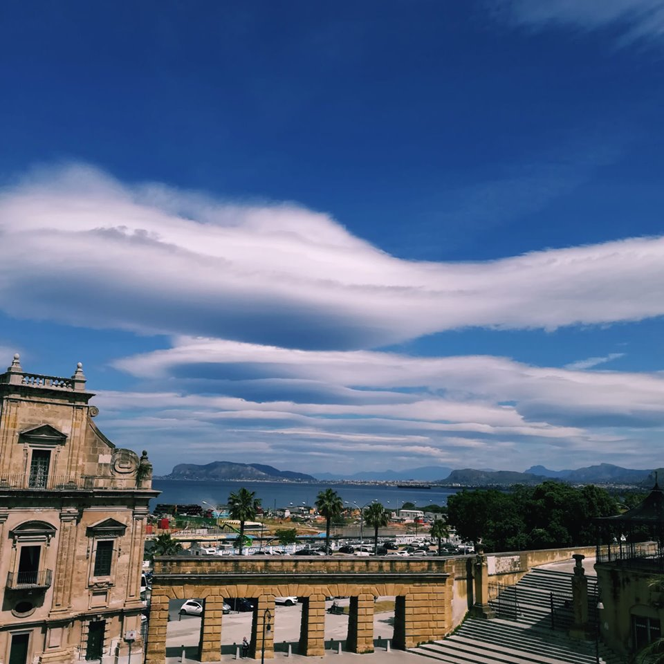 Photo by: GiuliphotoLenticular clouds in Palermo, Italy 9may2019