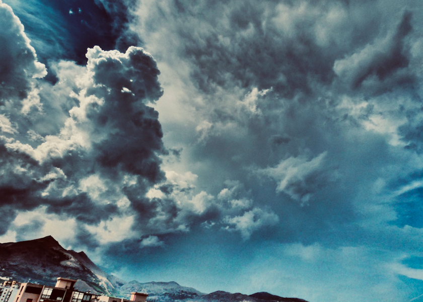 Photo by: Giuliphoto (me) - cumulonimbus in development in the hills of Palermo
