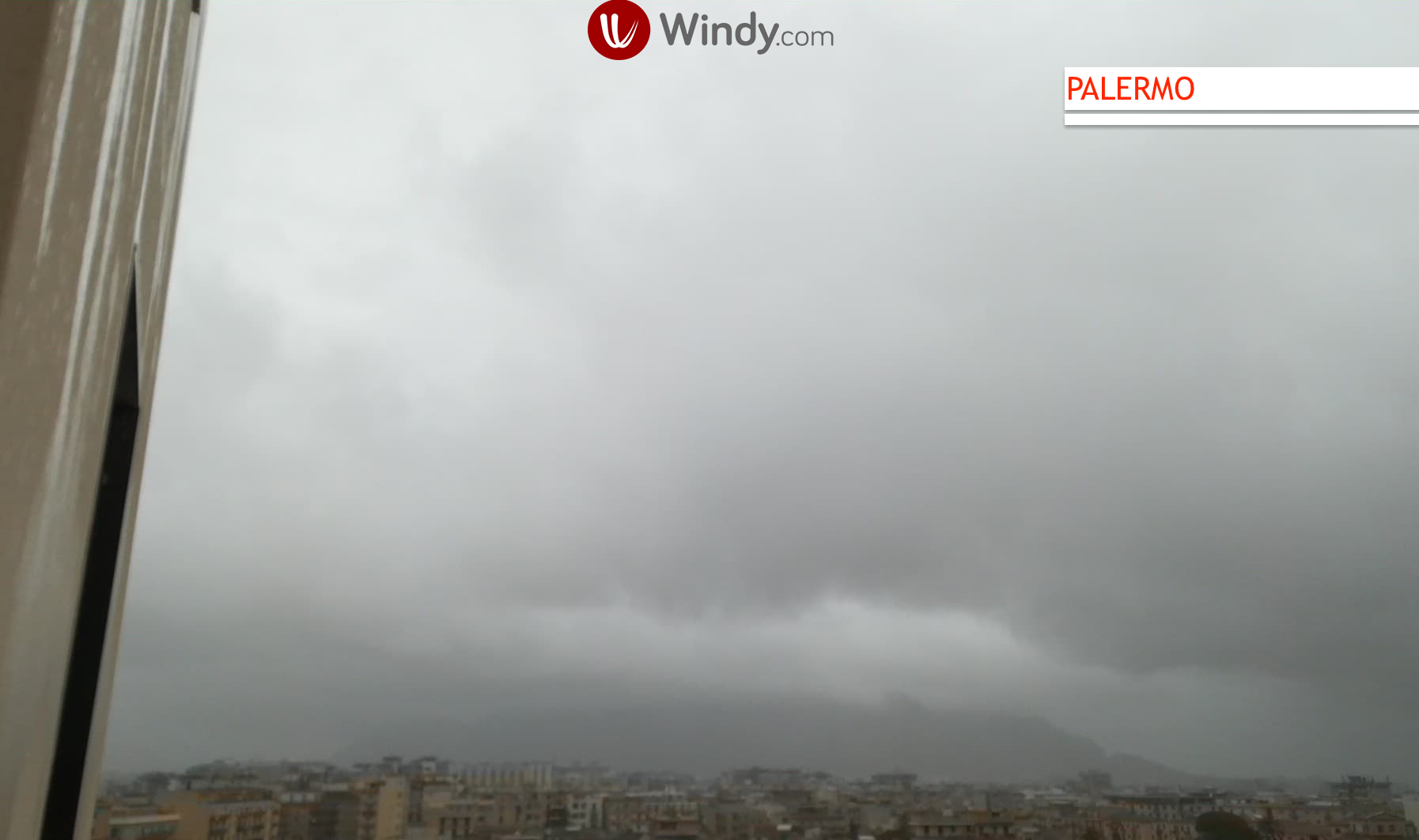 Photo: by Windy.com; desc: Situazione Palermo webcam; licence: cc